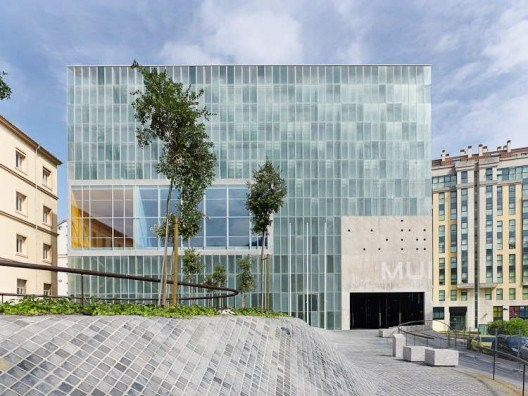 This Center For The Arts in La Coruña Spain, was designed by aceboXalonso studio 11 years ago, but has yet to open.