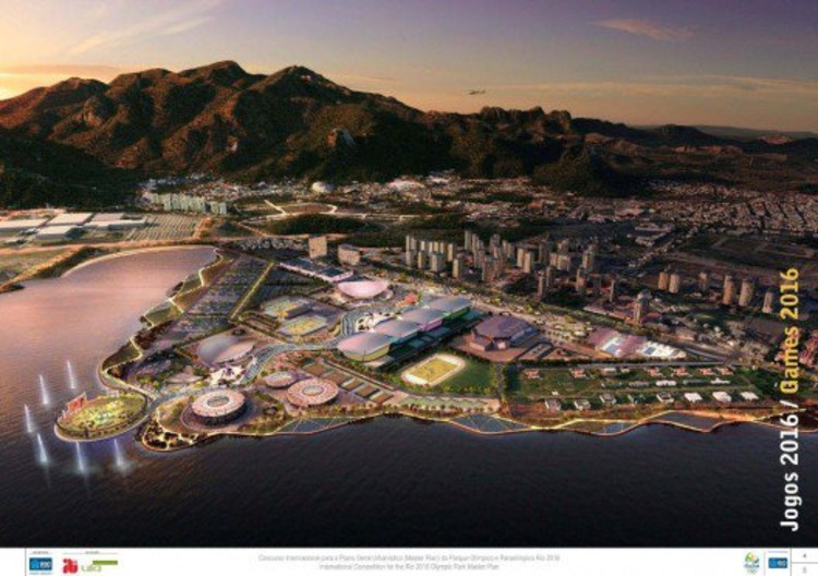 AECOM's master plan for Rio de Janeiro's 2016 Olympic Park, one of the many development projects happening throughout Brazil. Image © AECOM.