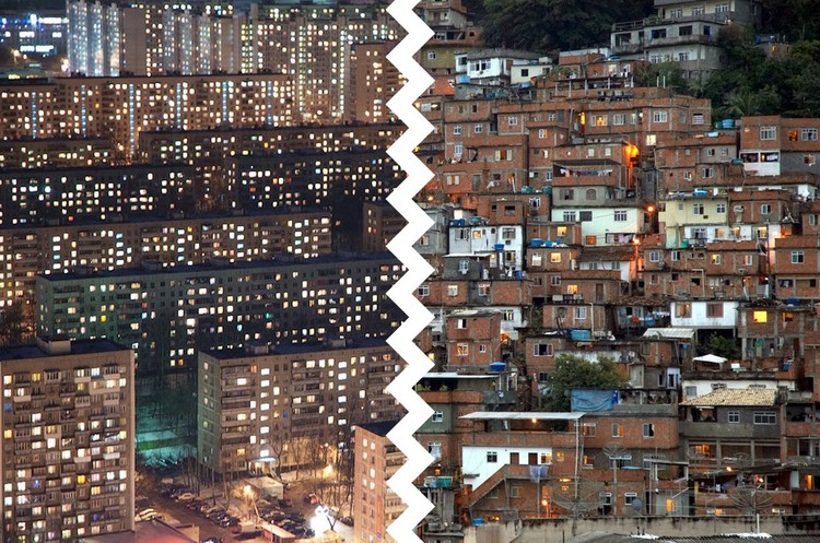 Microrayons vs. Favelas - Courtesy of the Strelka Institute