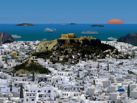Point Supreme Architects, Athens as an island.