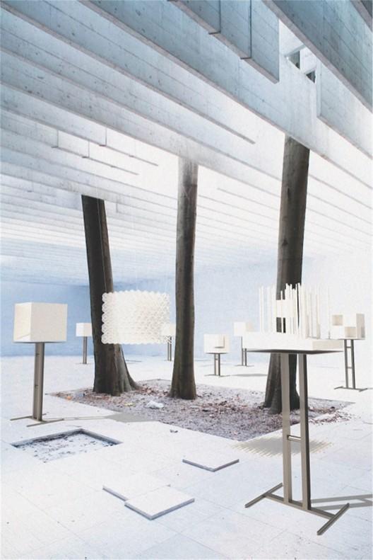 "Nordic Pavilion exhibition ""Light Houses: On the Nordic Common Ground"" © Museum of Finnish Architecture and Ilari Järvinen"