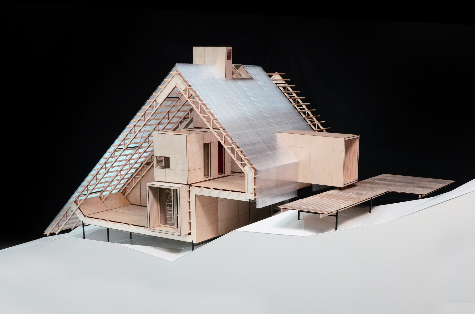 Gallery of venice biennale 2012 danish pavilion presents for Arctic house design