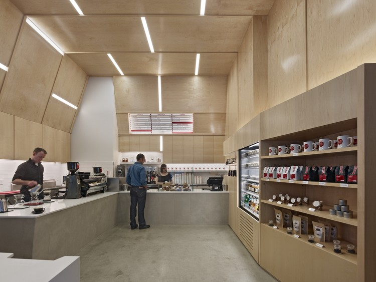 Coffee Bar Montgomery, San Francisco / jones | haydu - Image courtesy of Bruce Damonte Photography.