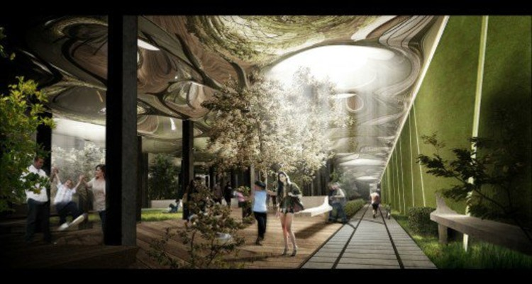 Renderings of the Low Line. Courtesy of James Ramsey and Dan Barasch
