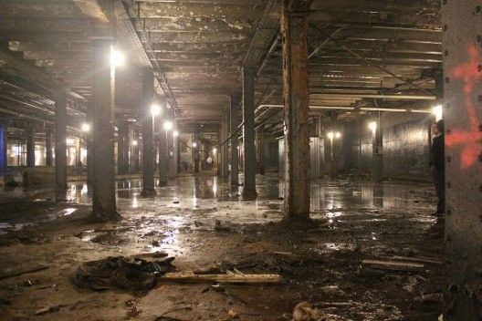 The current state of the Delancey Underground. Photo via James Ramsey and Dan Barasch.