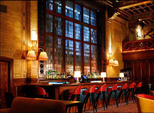 The Campbell Apartment in Grand Central Station. Photo via the Campbell Apartment.