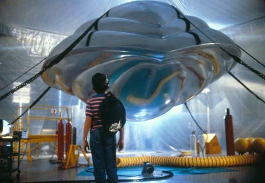 The Spaceship in Flight of the Navigator, the Disney Movie that was one of the inspirations for James Ramsay's Low Line design. Photo via AdventureAmigos.Net