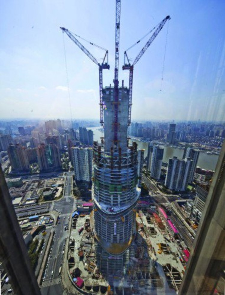 Shanghai Tower - Courtesy of Gensler