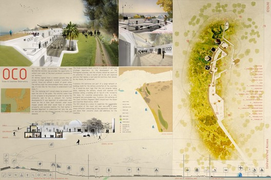 "Grand Prize: ""OCO - Ocean & Coastline Observatory"" - Courtesy of Architecture for Humanity"