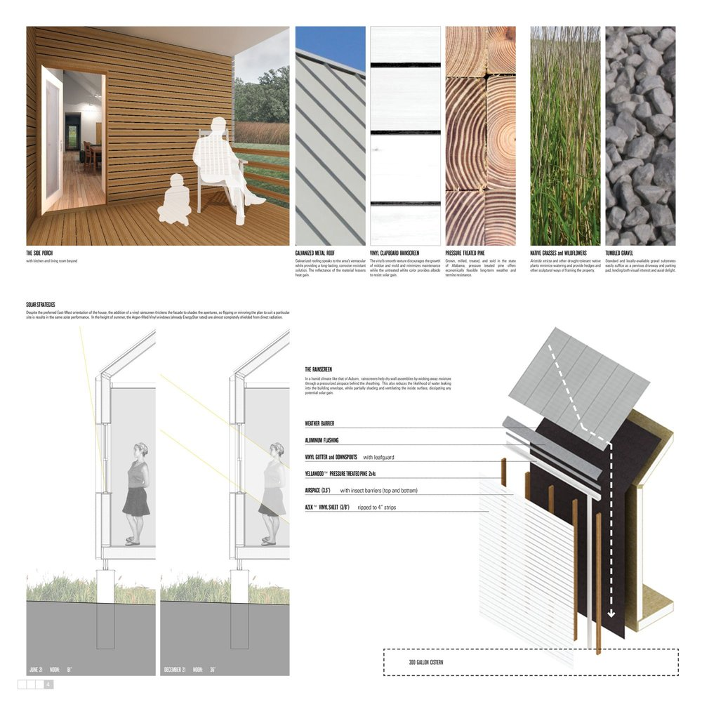 Winners Of Habitat For Humanityu0027s Sustainable Home Design Competition,Best  Use Of Vinyl © 2012