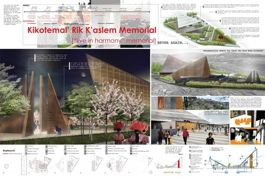 Kikotemal' Rik K'aslem Memorial - Courtesy of Architecture for Humanity