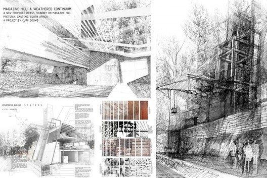 Magazine Hill: A weathered continuum, South Africa / Cliff Gouws - Courtesy of Architecture for Humanity