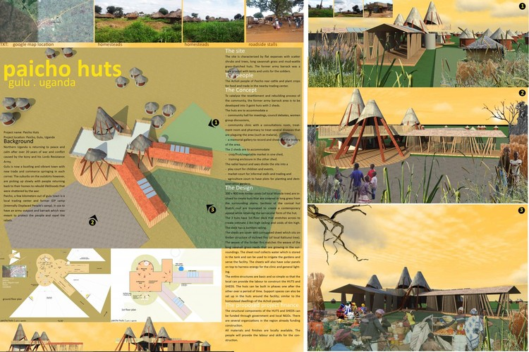 Paicho Huts, Uganda / Andrew Amara - Courtesy of Architecture for Humanity