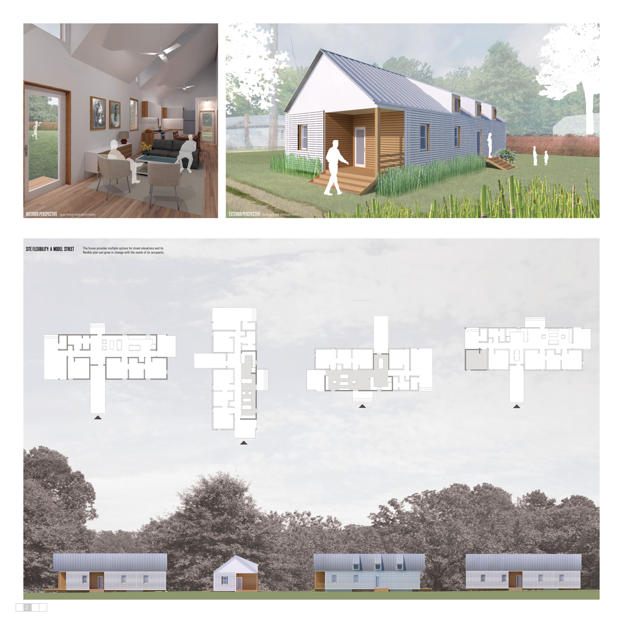 Gallery of winners of habitat for humanity 39 s sustainable for Architecture house design competitions