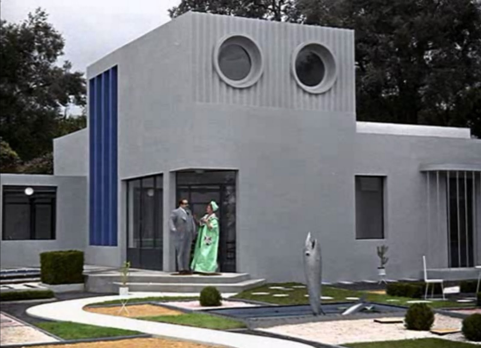 Films architecture my uncle archdaily - Jacques tati mon oncle ...