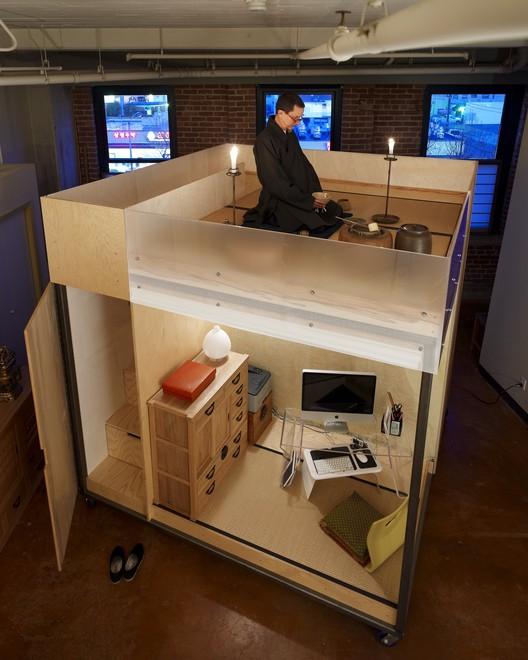 The Mobile Dwelling Cube; Oakland, CA /SPACEFLAVOR - Courtesy of AIA