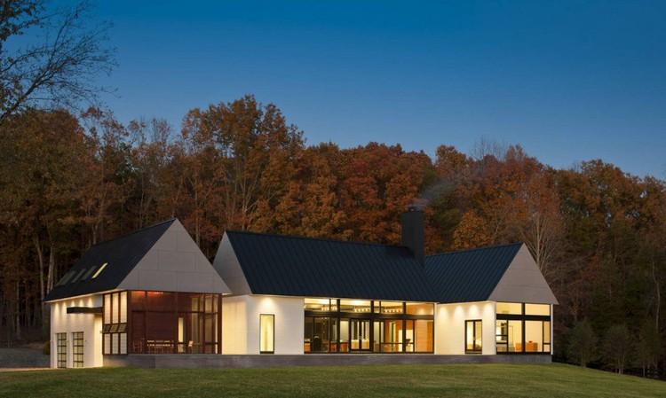 Becherer House; Charlottesville, VA /Robert M. Gurney, FAIA © Maxwell MacKenzie Architectural
