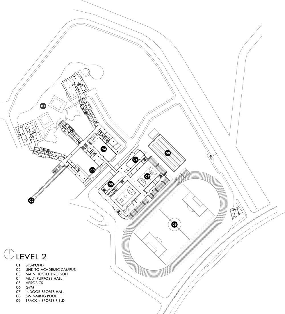 Gallery of singapore university of technology and design student housing and sports complex for Sports complex planning design