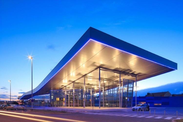 Bus Station in Osijek / Rechner © Mario Romulic & Drazen Stojcic
