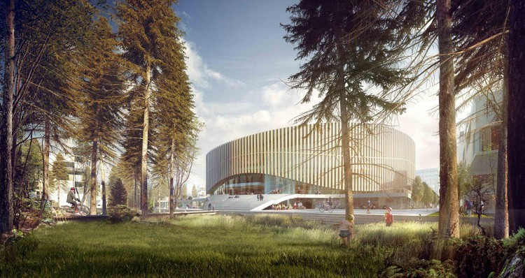 Copenhagen Arena Proposal / 3XN Architects - Courtesy of 3XN Architects