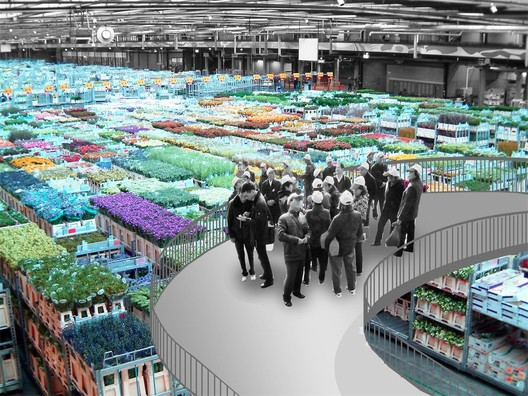Floriade Veiling - Image courtesy of OMA