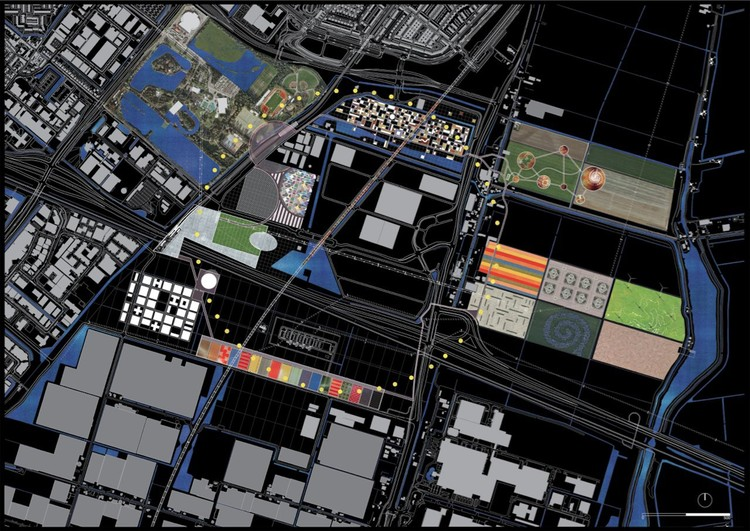Masterplan - Image courtesy of OMA