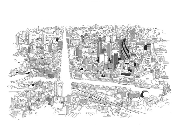 Illustrations by Chris Denty. You can find his work at http://www.chrisdent.co.uk/