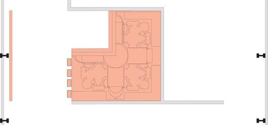 architectural space exhibit plan