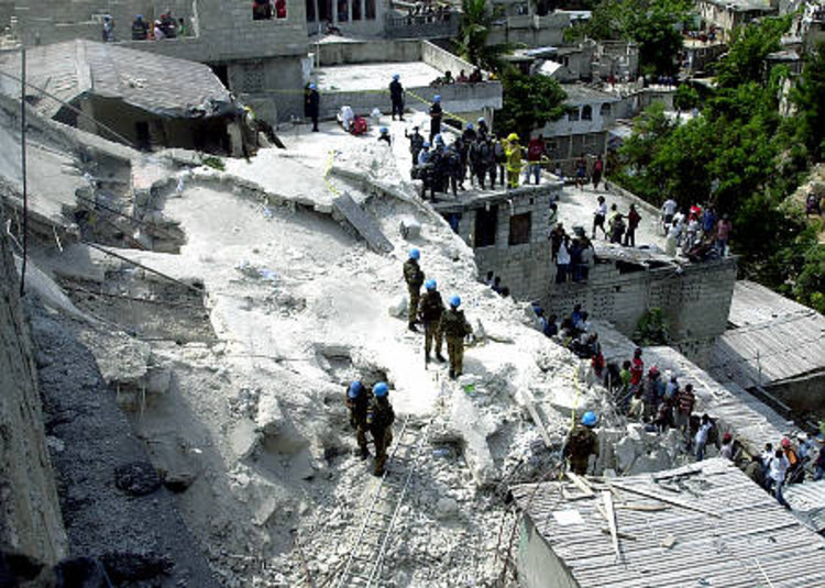Architecture for Humanity Helping Haiti © NY Daily News