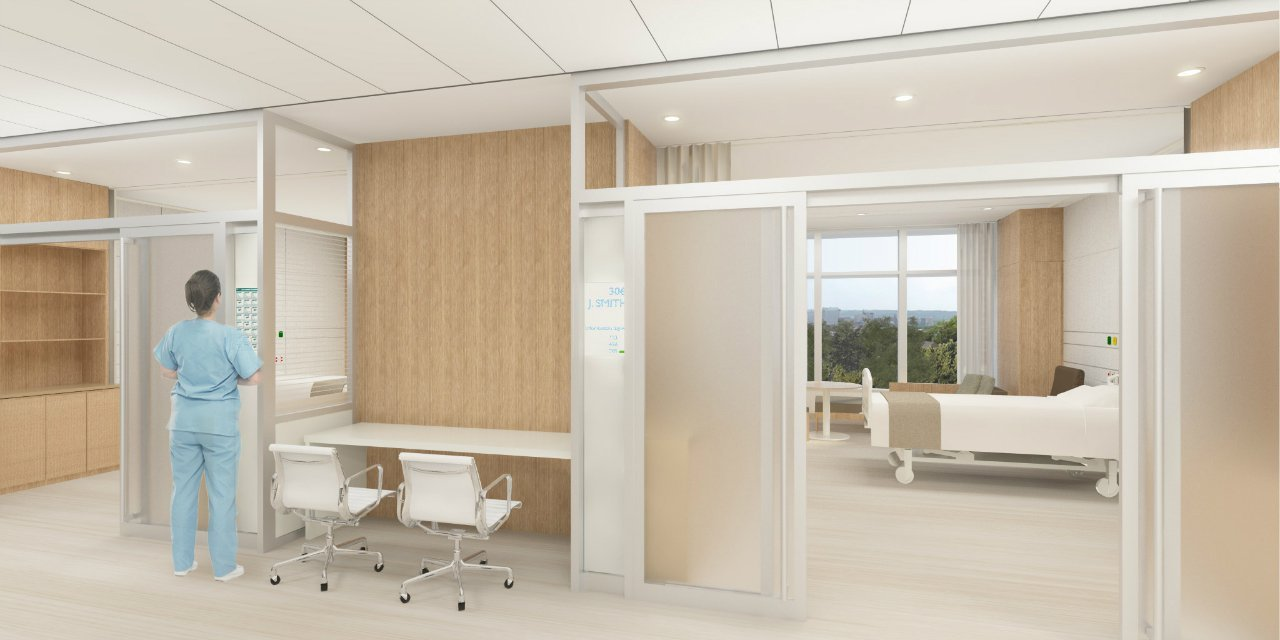 Gallery of SOM breaks ground at The Christ Hospital in