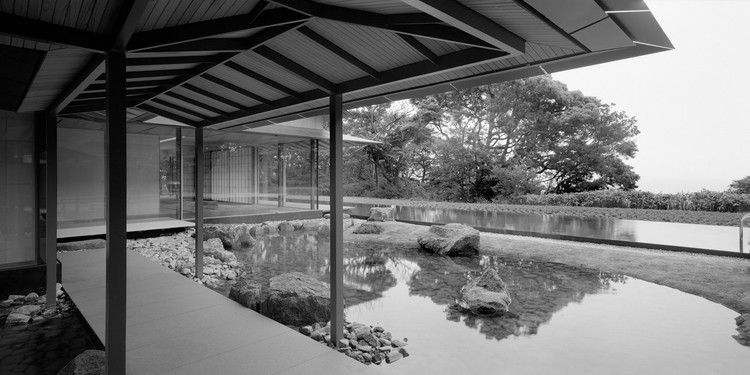 Water / Cherry, Eastern Japan, Kengo Kuma and Associates © Erieta Attali