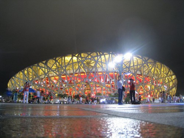 Beijing's The Bird's Nest, the prime example of an Olympic Stadium meant to wow. It will take about 30 years to pay off its