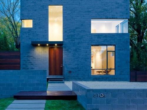 Hampden Lane House / Robert Gurney Architect - Courtesy of the AIA © Maxwell Mackenzie Architectural Photographer