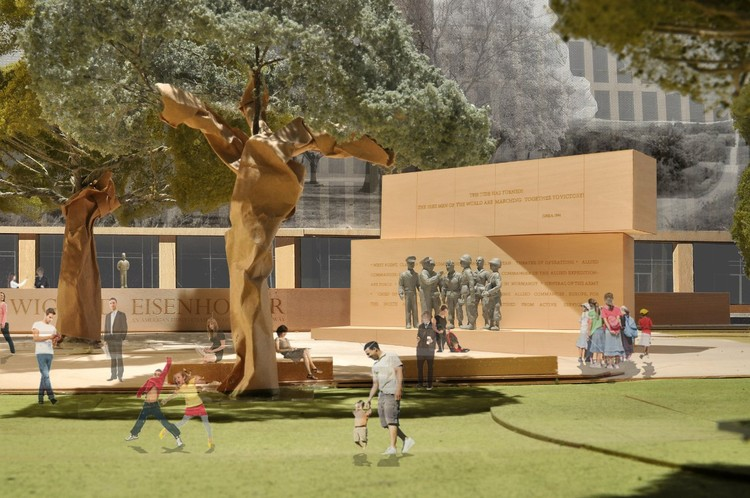 The General: Courtesy of Gehry Partners, LLP, 2012