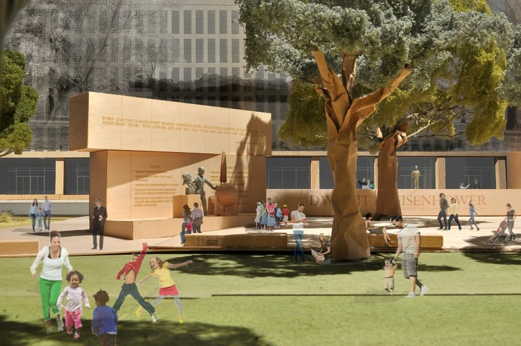 The President: Courtesy of Gehry Partners, LLP, 2012