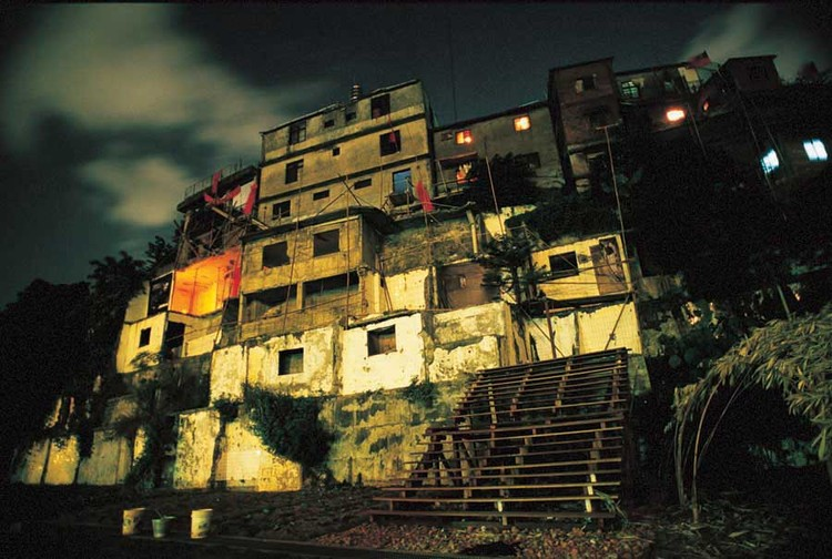 A community in Treasure Hill, in Taiwan, originally slated for demolition, but then preserved as a site for Urban Agriculture. Photo via e-architect.