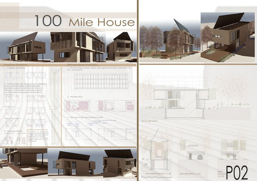 Architecture House Competition gallery of finalists of the 100 mile house competition - 1