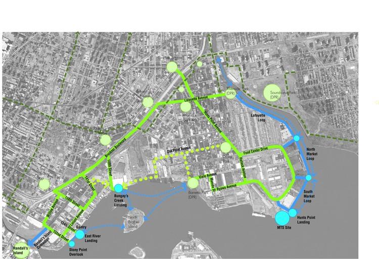 South Bronx Greenway Long Term Plan; © New York City Economic Development Corporation