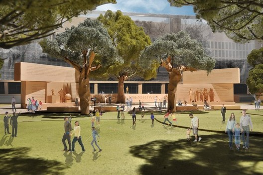 Eisenhower Memorial Commission / Gehry