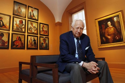 Pullitzer Prize Winning Historian, David McCullough. Photo © Jacquelyn Martin/The Associated Press