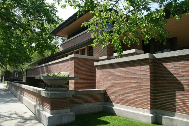 Robie House / Frank Lloyd Wright © Nat Hansen