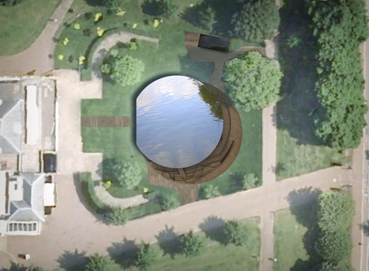 Aerial view © 2012, by Herzog & de Meuron and Ai Weiwei