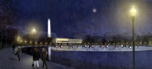 Rogers Marvel Architects & Peter Walker and Partners Via the Trust for the National Mall