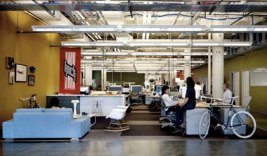 Facebook Offices in Palo Alto, designed by Studio O+A