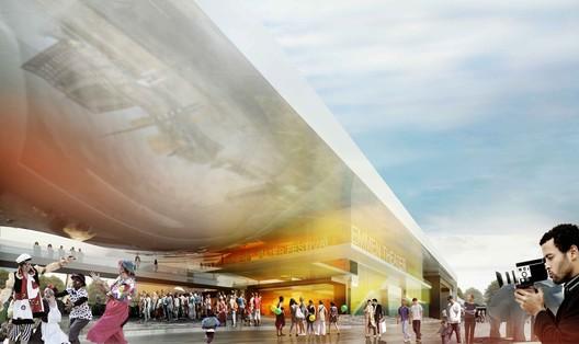 Courtesy of Henning Larsen Architects and Van den Berg Groep