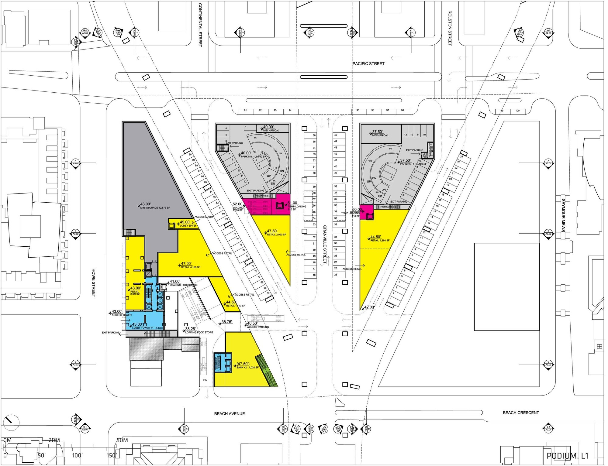 Gallery of beach and howe mixed use tower big 23 for 12 yonge floor plans