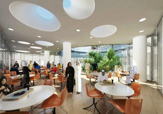 Cafeteria Terrace © SOM