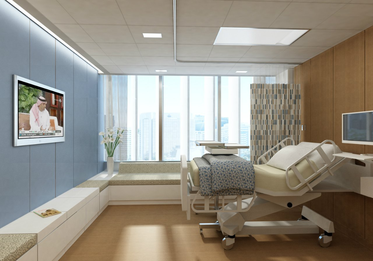 Typical Bedroom Size Gallery Of Sheikh Khalifa Medical City In Abu Dhabi Som 2