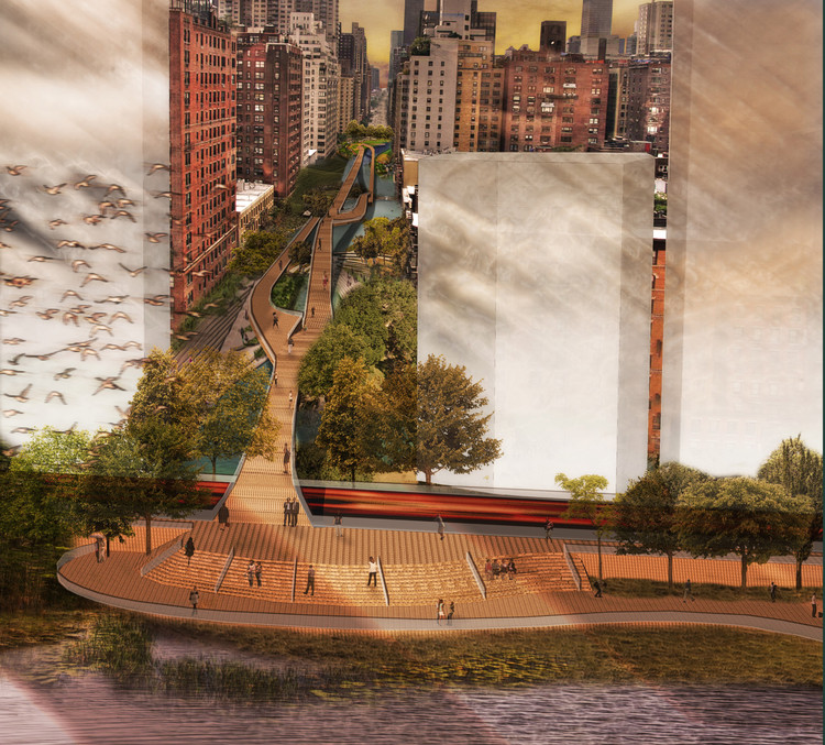 First Place / Joseph Wood; Courtesy of Civitas - Reimagining the Waterfront