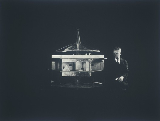 7.Buckminster Fuller and Chuck Byrne, 4D House, United States Patent Office no. 1,793, from the portfolio Inventions: Twelve Around One, 1981; screen print on Lenox paper; 30 in. x 40 in. (76.2 cm x 101.6 cm); Collection SFMOMA, gift of Chuck and Elizabeth Byrne; © The Estate of R. Buckminster Fuller, All Rights reserved. Published by Carl Solway Gallery, Cincinnati.